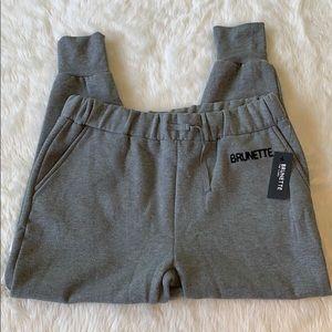 Brunette The Label Jogger Sweatpants